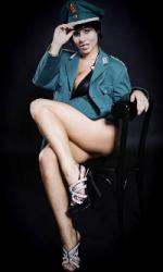 Stripperin Saskia aus Hannover