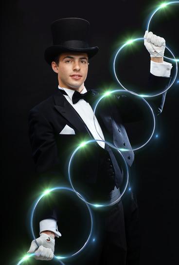 Zauberer für Partys