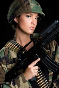 Army Girls für Animation - Gogo Agentur