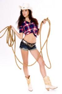 Cowgirl buchen für Events - Gogo Agentur