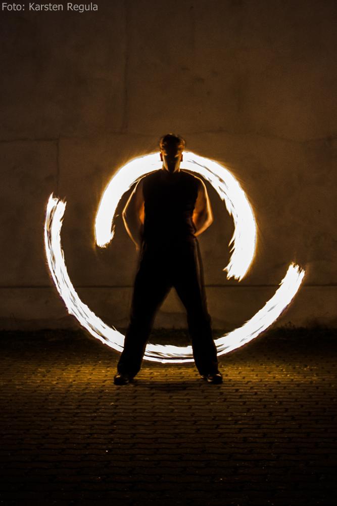 Feuerkünstler Fire Incubus für Ostwestfalen Lippe