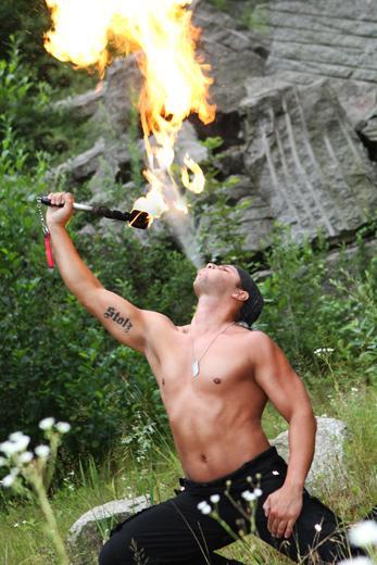 Feuerspucker-Basti für RLP