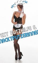 Sexy Nacktputzerin - Sexy Putzhilfe Animation Gogofabrik