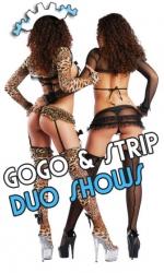 Gogo-Duo-Stripshow buchen-Gogofabrik