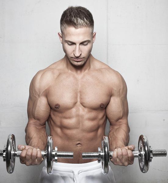 Model für Fitness
