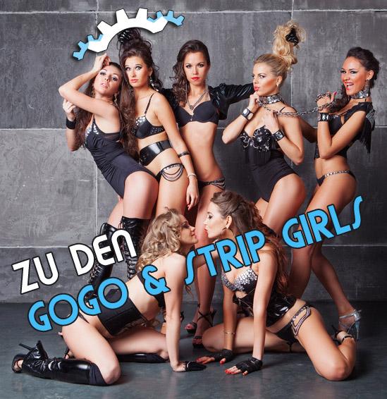 Stripperinnen-Gogos buchen